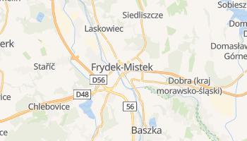 Frýdek-Místek - szczegółowa mapa Google