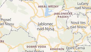 Jablonec nad Nysą - szczegółowa mapa Google