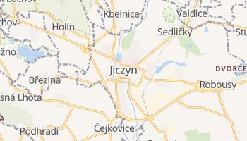 Jiczyn - szczegółowa mapa Google