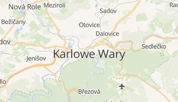 Karlowe Wary - szczegółowa mapa Google