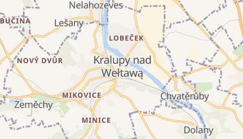 Kralupy nad Wełtawą - szczegółowa mapa Google