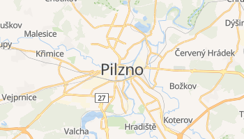 Pilzno - szczegółowa mapa Google