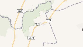 Tabor - szczegółowa mapa Google