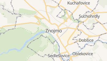 Znojmo - szczegółowa mapa Google