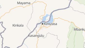 Kinszasa - szczegółowa mapa Google