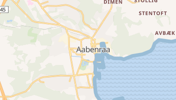 Aabenraa - szczegółowa mapa Google
