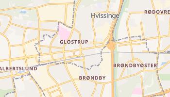 Gmina Glostrup - szczegółowa mapa Google