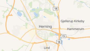 Herning - szczegółowa mapa Google