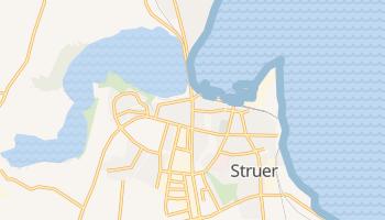 Struer - szczegółowa mapa Google
