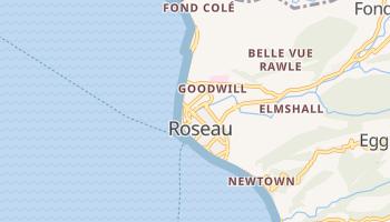 Roseau - szczegółowa mapa Google