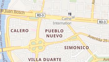 Duarte - szczegółowa mapa Google
