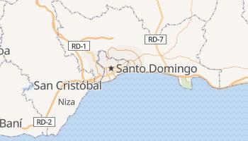 Santo Domingo - szczegółowa mapa Google