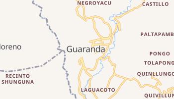 Guaranda - szczegółowa mapa Google