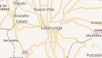 Latacunga - szczegółowa mapa Google