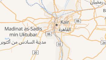 Giza - szczegółowa mapa Google