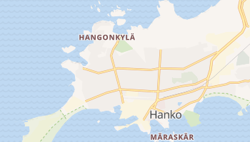 Hanko - szczegółowa mapa Google
