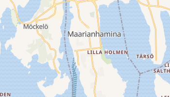 Maarianhamina - szczegółowa mapa Google