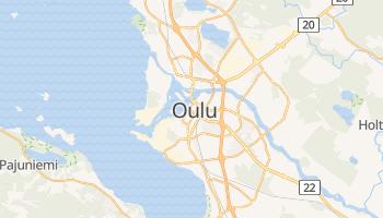 Oulu - szczegółowa mapa Google