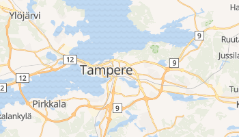 Tampere - szczegółowa mapa Google