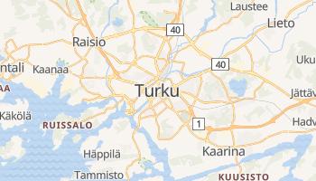 Turku - szczegółowa mapa Google