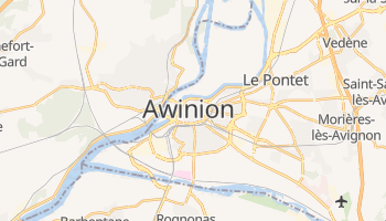 Awinion - szczegółowa mapa Google