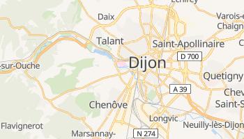 Dijon - szczegółowa mapa Google