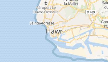 Hawr - szczegółowa mapa Google