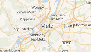 Metz - szczegółowa mapa Google