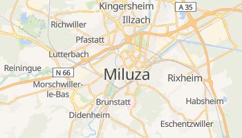 Miluza - szczegółowa mapa Google
