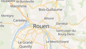 Rouen - szczegółowa mapa Google
