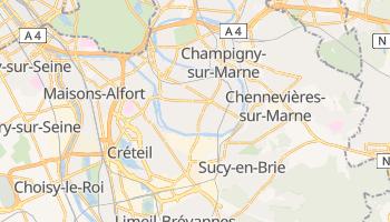 Saint-Maur-des-Fossés - szczegółowa mapa Google