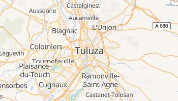 Tuluza - szczegółowa mapa Google