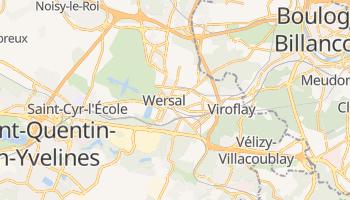 Wersal - szczegółowa mapa Google