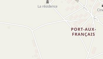 Port-aux-Français - szczegółowa mapa Google