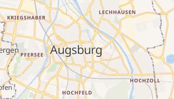 Augsburg - szczegółowa mapa Google