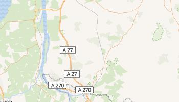 Brema - szczegółowa mapa Google