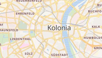 Kolonia - szczegółowa mapa Google