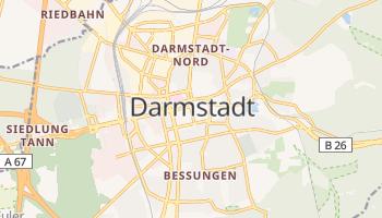 Darmstadt - szczegółowa mapa Google