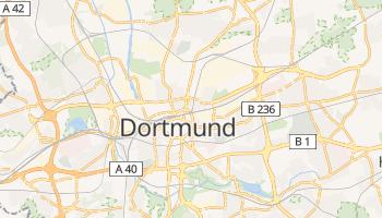 Dortmund - szczegółowa mapa Google