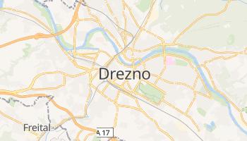 Drezno - szczegółowa mapa Google