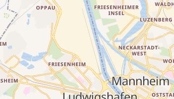 Ludwigshafen - szczegółowa mapa Google
