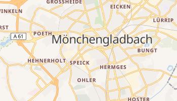 Mönchengladbach - szczegółowa mapa Google