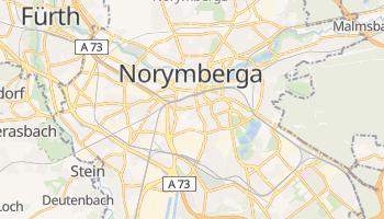 Norymberga - szczegółowa mapa Google