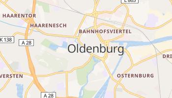 Oldenburg - szczegółowa mapa Google