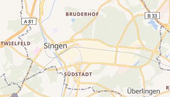 Singen - szczegółowa mapa Google