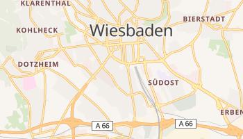 Wiesbaden - szczegółowa mapa Google