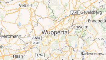 Wuppertal - szczegółowa mapa Google