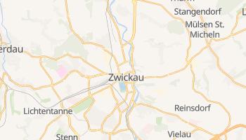 Zwickau - szczegółowa mapa Google