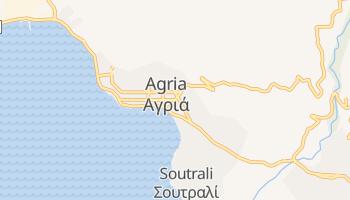 Agria - szczegółowa mapa Google