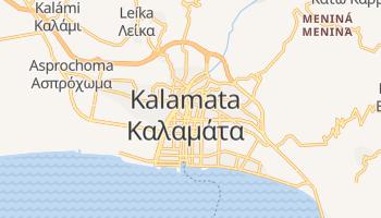 Kalamata - szczegółowa mapa Google